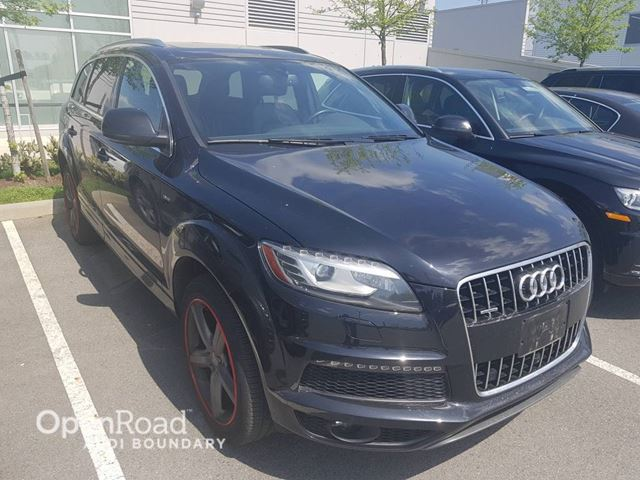 2015 AUDI Q7 quattro 4dr 3.0T Vorsprung Edition FINANCE FOR  in Vancouver, British Columbia