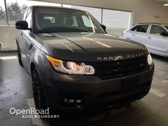 2015 LAND ROVER RANGE ROVER Sport 4WD 4dr V8 Supercharged in Vancouver, British Columbia