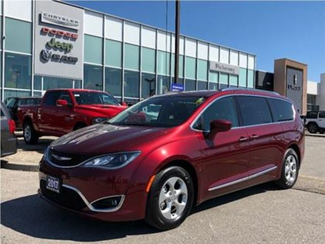 2017 CHRYSLER PACIFICA Touring-L Plus ADVANCED SAFETY TEC NAV CAMERA in Pickering, Ontario