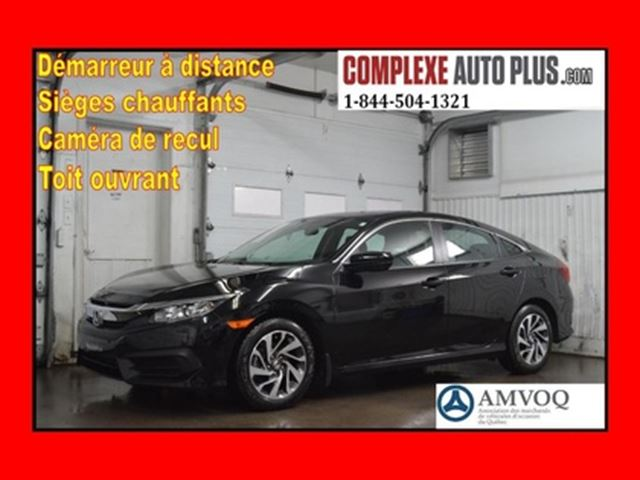 2016 HONDA CIVIC EX *Toit ouvrant, Mags, Camera recul in Saint-Jerome, Quebec