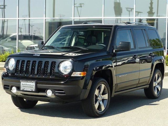 2016 Jeep Patriot 4x4 Sport / North High Altitude Edition in North Vancouver, British Columbia