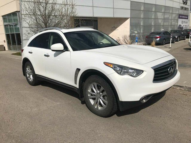 2013 INFINITI FX37 PREMIUM PACKAGE/ALL WHEEL DRIVE/HEATED AND COOLED SEATS/2ND SET OF TIRES/BOSE AUDIO in Edmonton, Alberta