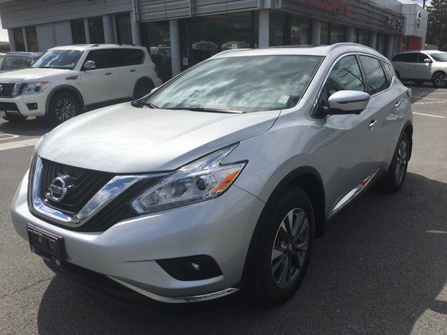 2017 NISSAN MURANO SL 4dr AWD Sport Utility in Kamloops, British Columbia
