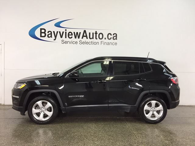 2018 JEEP COMPASS North - ALLOYS! PUSH BUTTON START! A/C! U-CONNECT! CRUISE! in Belleville, Ontario