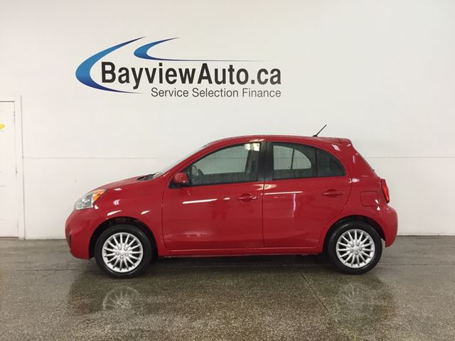 2016 NISSAN MICRA S - 1.6L! AUTO! A/C! BLUETOOTH! GAS BUDDY! in Belleville, Ontario