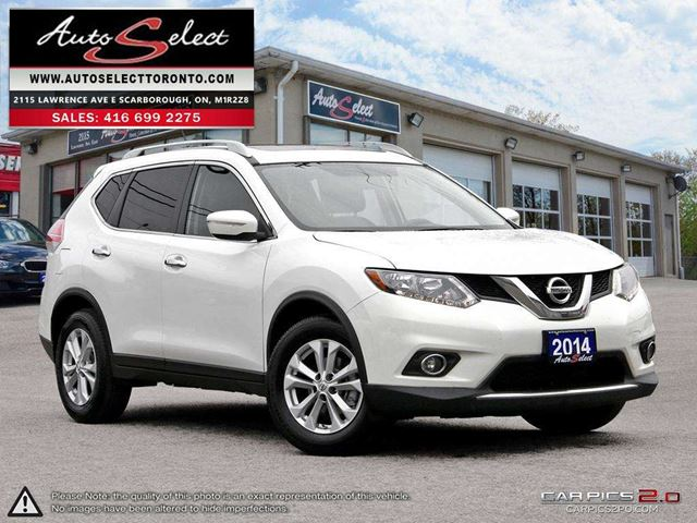 2014 NISSAN ROGUE ONLY 59K! **SV MODEL**BACK-UP CAMERA**PAN-SUNROOF* in Scarborough, Ontario