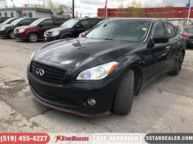 2013 INFINITI M37 Sport   NAV   LEATHER   ROOF   CAM   AWD in London, Ontario