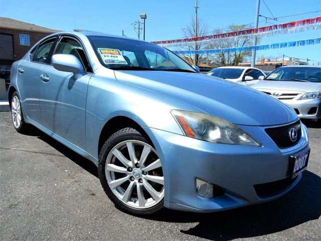 2007 LEXUS IS 250 AWD  PREMIUM  LEATHER.ROOF  NO ACCIDENTS in Kitchener, Ontario