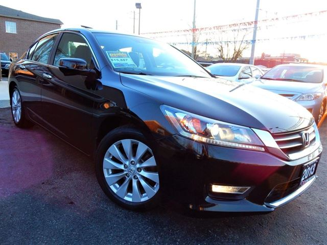 2013 HONDA Accord EX-L  LEATHER.ROOF  REVERSE.BLIND SPOT CAMERA in Kitchener, Ontario