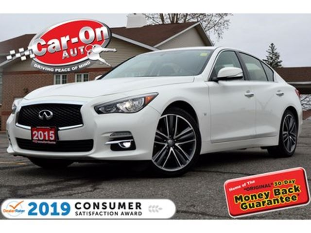 2015 INFINITI Q50 3.7 LIMITED AWD LEATHER NAV SUNROOF LOADED in Ottawa, Ontario