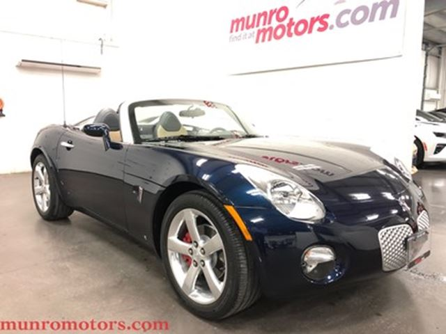 2006 PONTIAC SOLSTICE Leather Chrome Wheels 26k Kms in St George Brant, Ontario