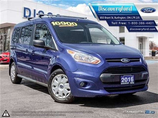 2016 FORD Transit Connect XLT SYNC,**SOLD** in Burlington, Ontario
