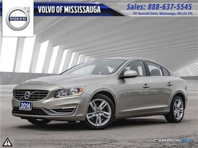 2014 VOLVO S60 T5 AWD A Premier from 0.9%-6Yr/160, 000 - Mississa in Mississauga, Ontario