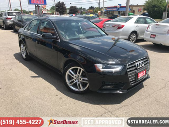 2013 AUDI A4 2.0T Premium   NAV   LEATHER   ROOF   AWD in London, Ontario