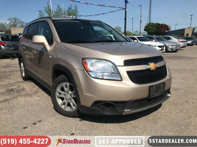 2012 CHEVROLET ORLANDO 1LT   AUTO LOANS APPROVED in London, Ontario