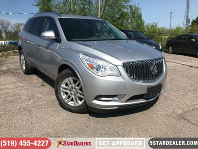 2013 BUICK ENCLAVE Convenience   AWD   7PASS   CAM in London, Ontario