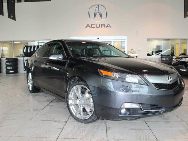 2012 ACURA TL ELITE SHAWD, LOW MILEAGE, RARE FIND in Red Deer, Alberta
