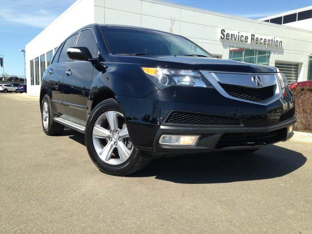 2013 ACURA MDX Technology Package Navigation, Backup Camera, DVD Player in Edmonton, Alberta