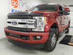 2017 Ford F-350 Lariat 6.7L powerstroke Turbo Diesel- NAV, sunroof, heated/cooled power leather seats, heated rear seats, back up cam and keyless entry in Edmonton, Alberta