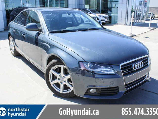 2009 AUDI A4 LEATHER/SUNROOF/HEATEDSEATS in Edmonton, Alberta