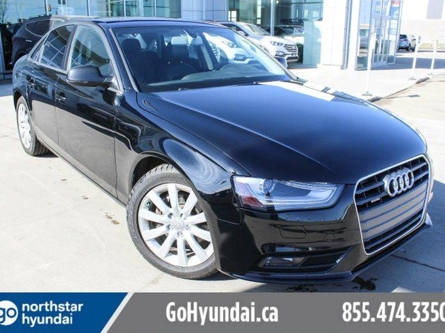 2014 AUDI A4 6SPEED/LEATHER/SUNROOF/HEATEDSEATS in Edmonton, Alberta