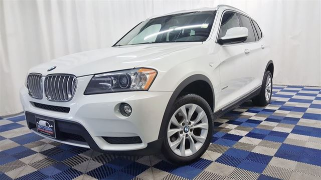 2011 BMW X3 xDrive35i/ACCIDENT FREE/SUNROOF/LEATHER/NAV in Winnipeg, Manitoba