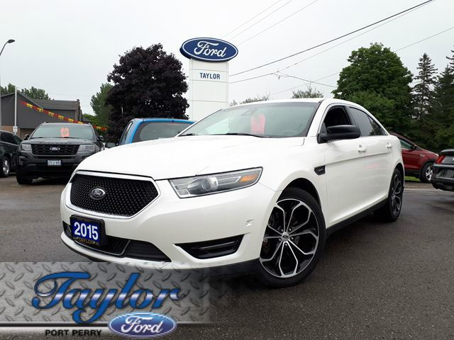 2015 Ford Taurus SHO *AWD* *ABSOLUTELY LOADED* in Port Perry, Ontario