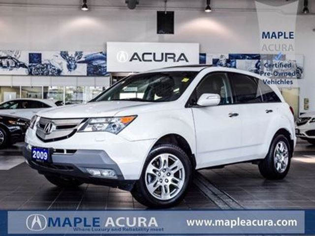 2009 Acura MDX Leather seats, sunroof, SH-AWD in Maple, Ontario