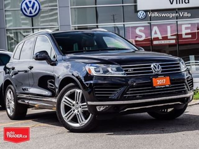 2017 VOLKSWAGEN Touareg 3.6L Execline RLine Leather Roof Nav in Thornhill, Ontario