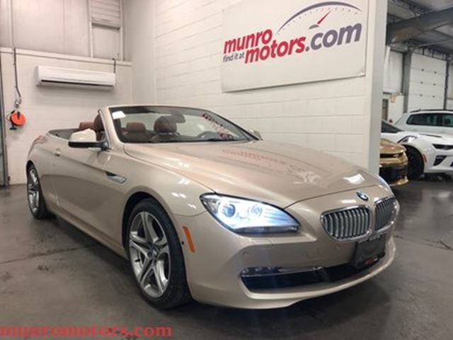 2012 BMW 6 SERIES i Cabriolet Low Kms Executive Package in St George Brant, Ontario