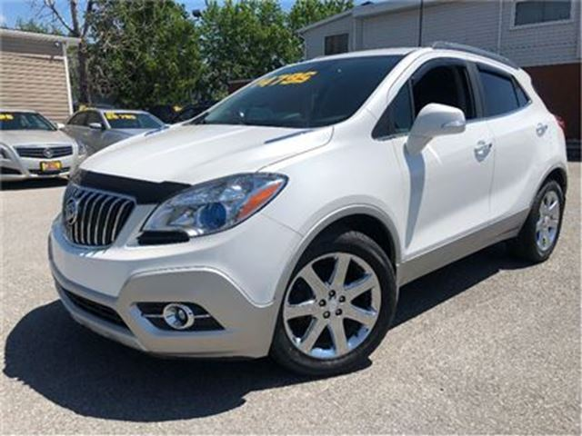 2014 BUICK ENCORE Leather BIG CHROME WHEELS BACKUP CAMERA in St Catharines, Ontario