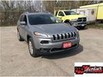 2016 Jeep Cherokee Limited 4x4 With Panoramic Sunroof.One Owner.Clean in Arthur, Ontario