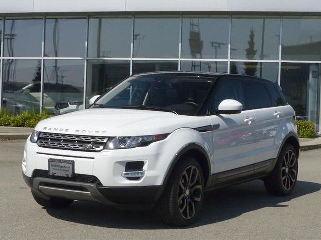 2015 Land Rover Range Rover Evoque Pure Plus in North Vancouver, British Columbia
