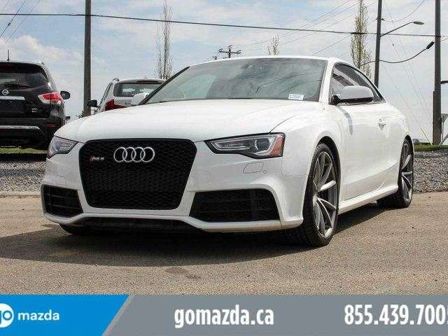 2014 AUDI RS5 AWD 450 HP LEATHER ROOF NAVI EATS THE ROAD in Edmonton, Alberta