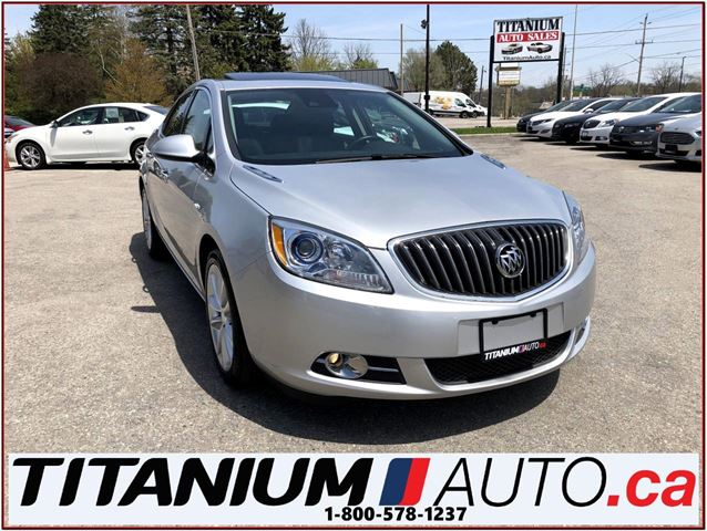 2015 Buick Verano GPS+Camera+Sunroof+Leather+Blind Spot & Cross Traf in London, Ontario