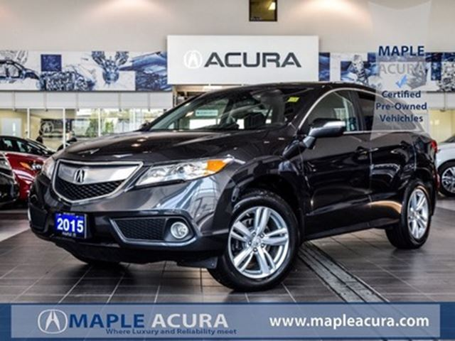 2015 Acura RDX Tech Pkg, Navi, back up cam, Leather, AWD in Maple, Ontario