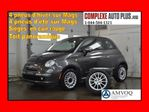 2014 Fiat 500 Lounge *Toit pano + Cuir Rouge + 8 Mags! in Saint-Jerome, Quebec
