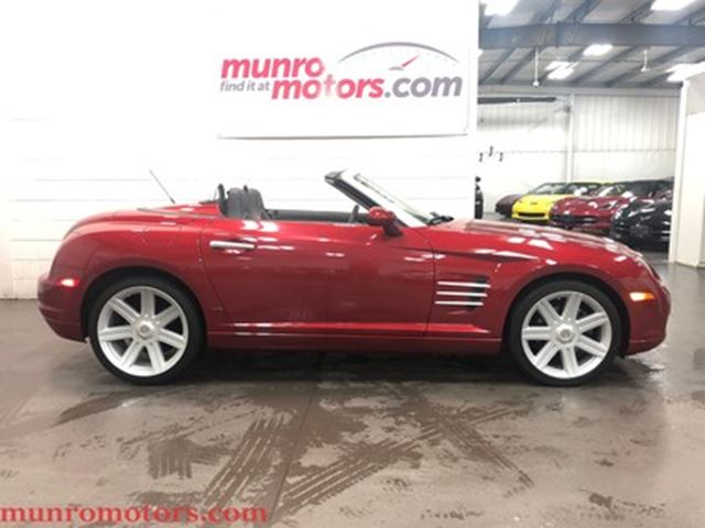 2008 Chrysler Crossfire Limited Low Kms Convertible Automatic in St George Brant, Ontario