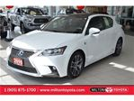 2015 Lexus CT 200h F-Sport, Navigation, Memory Seats, Leather in Milton, Ontario