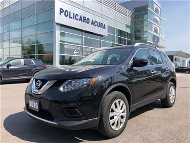 2016 NISSAN Rogue S AWD CVT AWD, One Owner. in Brampton, Ontario