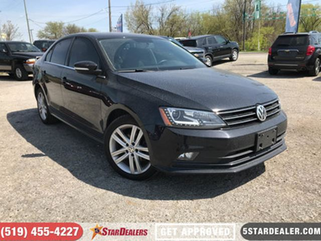 2015 VOLKSWAGEN JETTA 1.8 TSI Highline   NAV   ROOF   LEATHER in London, Ontario