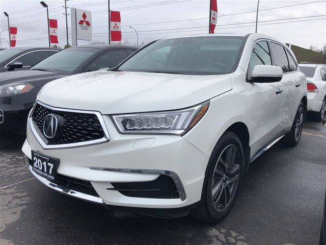 2017 ACURA MDX Navigation Package in Thunder Bay, Ontario
