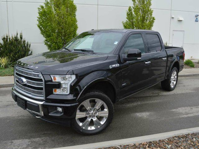 2017 FORD F-150 Limited 4x4 SuperCrew Cab Styleside 5.5 ft. box 145 in. WB in Kamloops, British Columbia