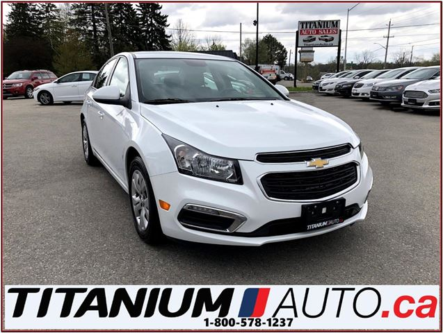 2016 CHEVROLET CRUZE LT+Camera+Remote Start+BlueTooth+My Link+One Owner in London, Ontario