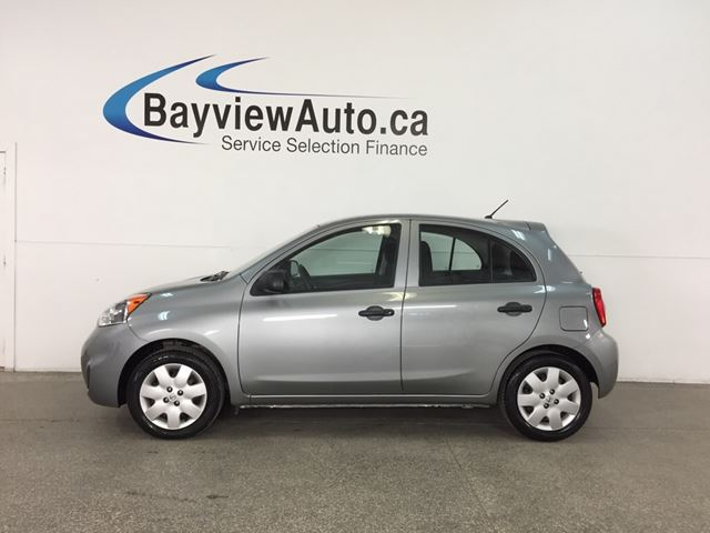 2015 NISSAN MICRA S - AUTO! A/C! CRUISE! GAS BUDDY! in Belleville, Ontario