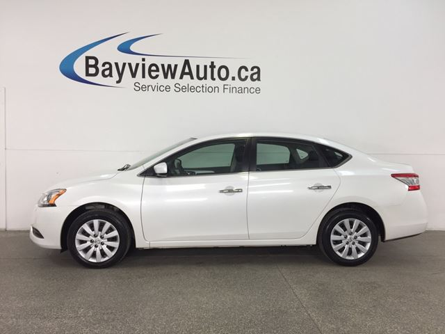 2015 NISSAN SENTRA 1.8 S - KEYLESS ENTRY! A/C! BLUETOOTH! CRUISE! LOW KM! SPORT MODE! in Belleville, Ontario
