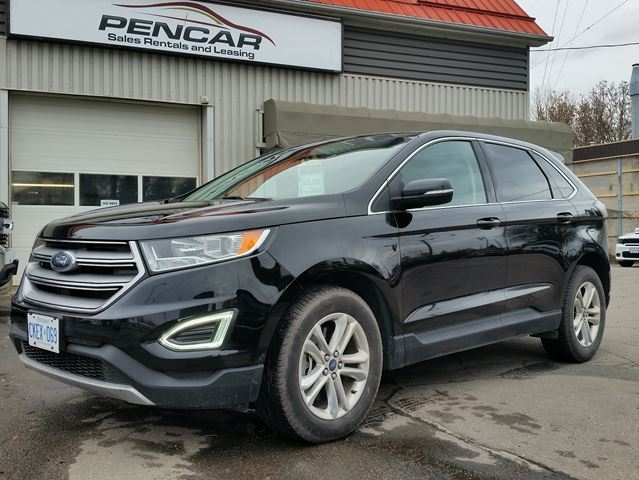 Ford Edge Sel Awd Previous Daily Rental Brantford Ontario Car For Sale