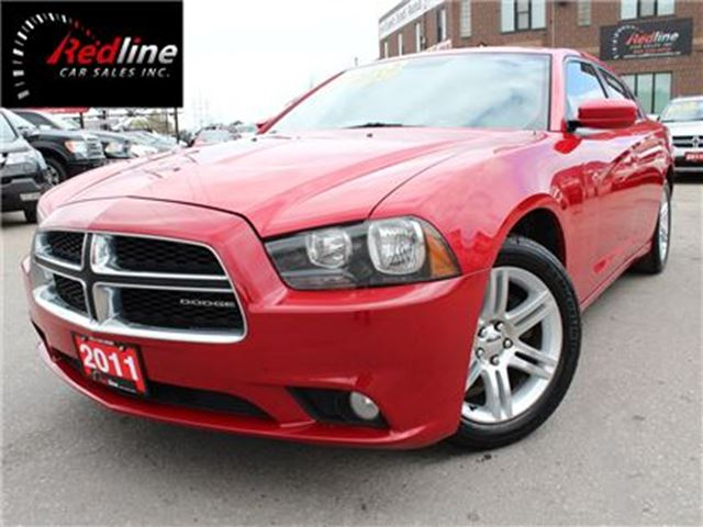 2011 DODGE Charger SXT Plus -Sunroof-Bluetooth-8.4Touch Screen- in Hamilton, Ontario