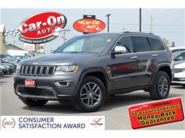 2017 JEEP GRAND CHEROKEE Limited 4X4 LEATHER SUNROOF REAR CAM HTD SEATS in Ottawa, Ontario