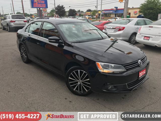 2014 VOLKSWAGEN JETTA 1.8 TSI Highline   LEATHER   ROOF in London, Ontario